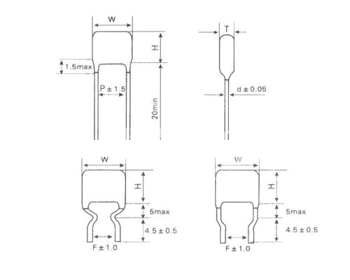 CBB81高压金属化聚丙烯膜电容器