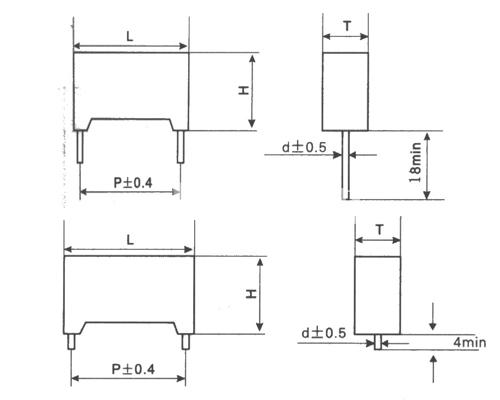 MKP84塑料外壳双面金属化聚丙烯膜电容器