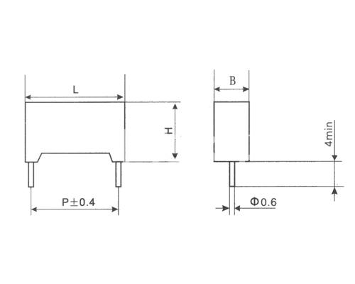 CLS21塑料外壳金属化聚碳酸酯膜电容器