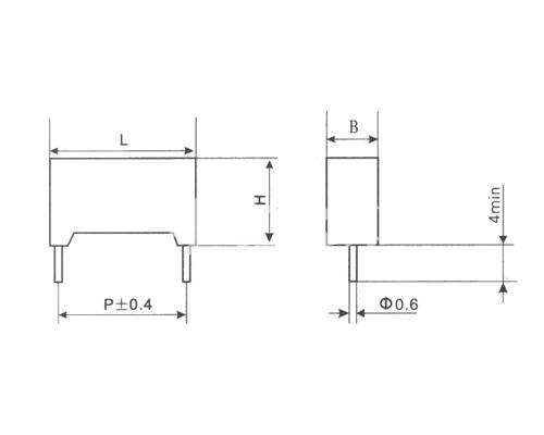 CBS21塑料外壳金属化聚苯硫醚膜电容器