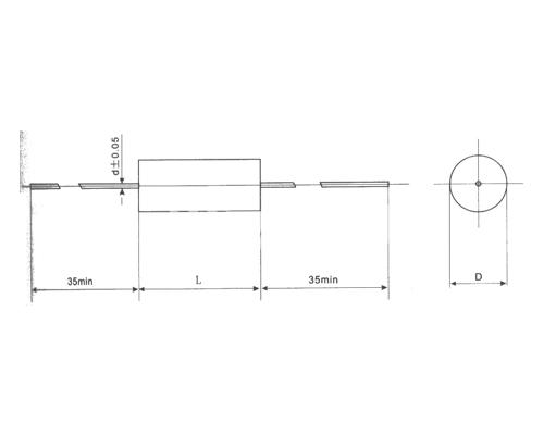 CBS20轴向金属化聚苯硫醚膜电容器