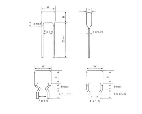 CLN21金属化聚萘乙酯膜高温电容器