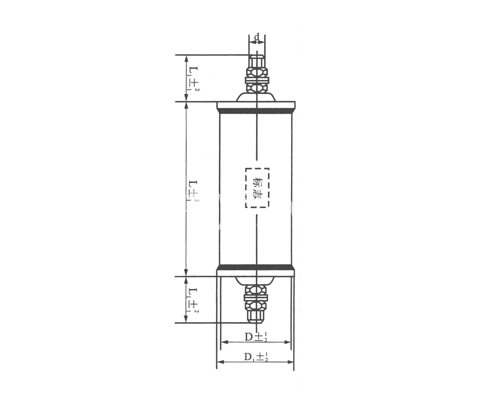 CH81高压密封复合介质电容器