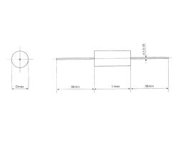 CL20 轴向金属化聚酯膜电容器