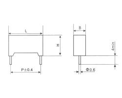 深圳CLS21塑料外壳金属化聚碳酸酯膜电容器