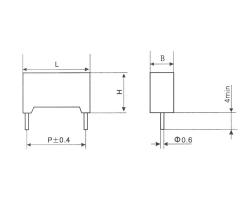 深圳CBS21塑料外壳金属化聚苯硫醚膜电容器