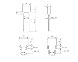 深圳CLN21金属化聚萘乙酯膜高温电容器