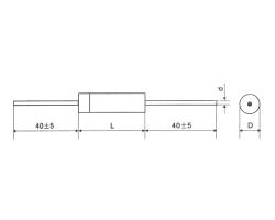 CBB16轴向箔式聚苯乙烯膜精密电容器