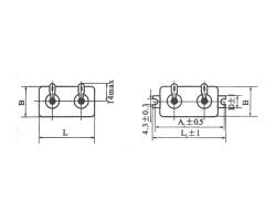 CJ41单层密封金属化纸介电容器