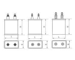CZ82高压脉动复合介质电容器