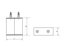 CH68A高压交流复合介质换相电容器