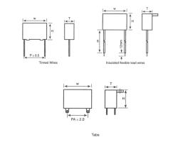 CBB61塑壳金属化聚丙烯膜交流电动机电容器