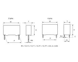 MKP82交流输出滤波电容器