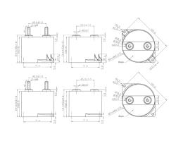 MKP83A塑料外壳干式直流滤波电容器