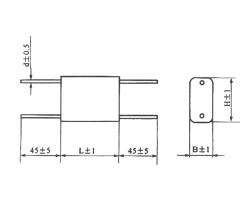 CBB20S金属化聚丙烯膜固定电容器