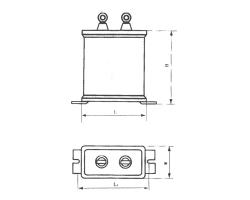 CBBT金属化聚丙烯膜交流电容器