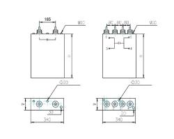 DKTFM高压交流金属化聚丙烯膜电容器