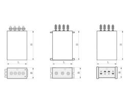 DGMJ交流传动电力机车电容器