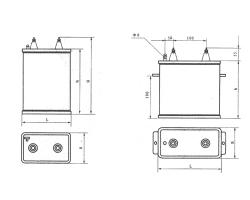 CH69A/84A直流传动电力机车金属化电容器
