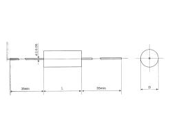 Cbf10 PTFE film capacitor